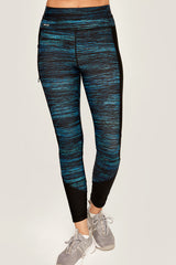 MID RISE BURST ANKLE LEGGINGS