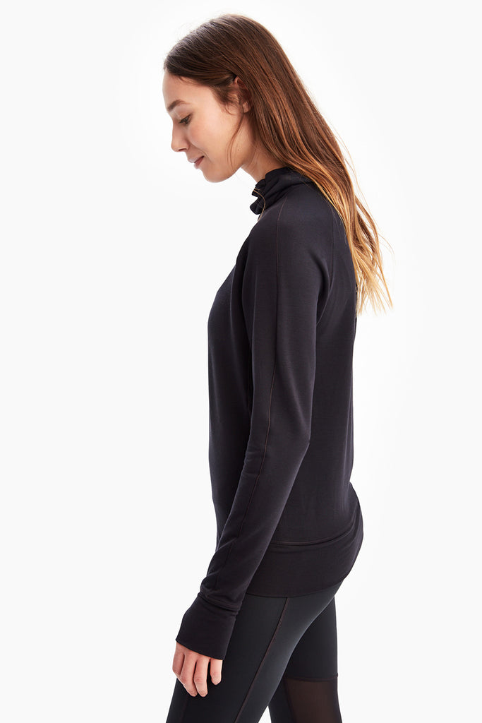 CRESCENT  SNOOD LONG SLEEVE