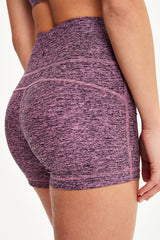 HALF MOON  HIGH WAIST SHORTS