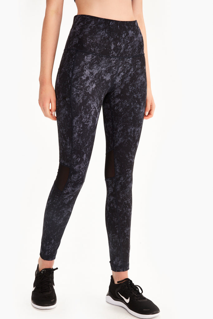 BURST ANKLE HIGH WAIST LEGGING