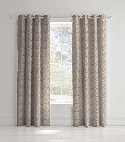 Curtains, Catherine Lansfield, Catherine Lansfield Elephant Eyelet Curtains - 66x72 Inches (168x183cm) - from thebeddingbox.co.uk