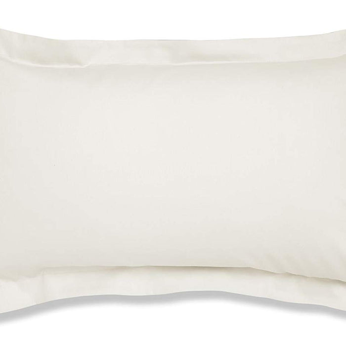 , thebeddingbox, Catherine Lansfield 500 Thread Count Cream Oxford Pillowcase - from thebeddingbox.co.uk