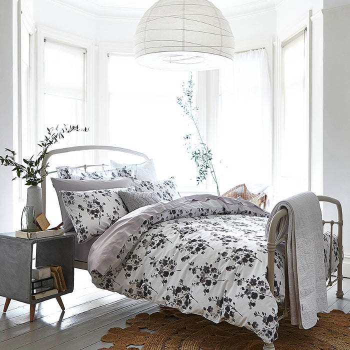 Duvet Cover, Bianca Cotton Soft, Bianca Cotton Soft Sprig Print Duvet Cover Set - from thebeddingbox.co.uk