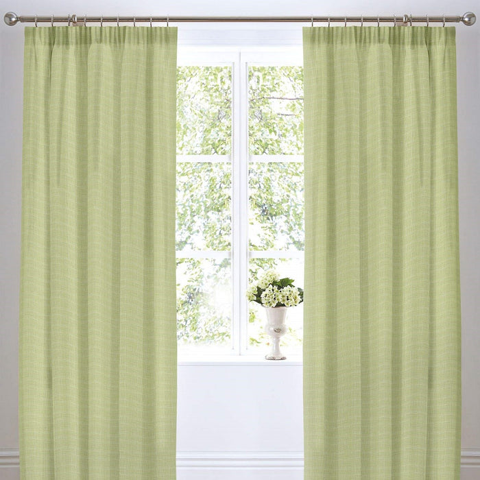 Curtains, Dreams n Drapes, Dreams n Drapes Botanique Green Lined Curtains - 66x72 Inches (168x183cm) - from thebeddingbox.co.uk