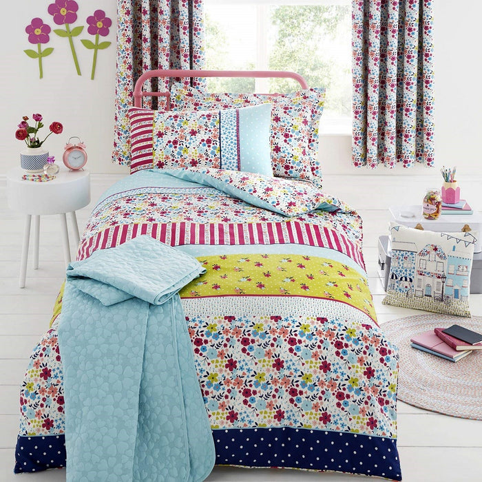 Kids Duvet Cover, Bedlam, Bedlam Joy Bedspread - 150x200cm - from thebeddingbox.co.uk