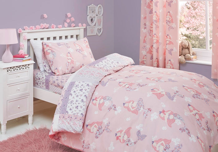 Kids Bedding, Bedlam, Bedlam Mermaid Duvet Cover Set - from thebeddingbox.co.uk