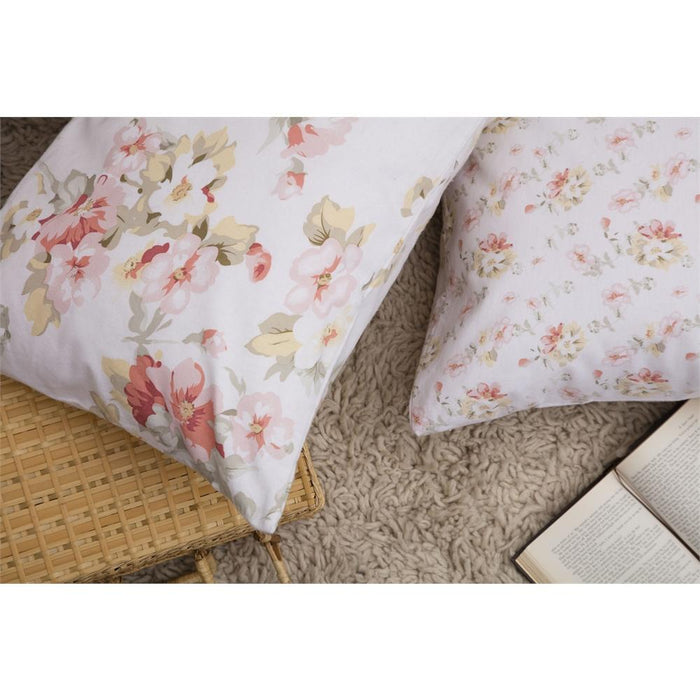 Housewife, Belledorm, Belledorm Cherry Blossom Country Dream Pillowcases (Pair) - from thebeddingbox.co.uk