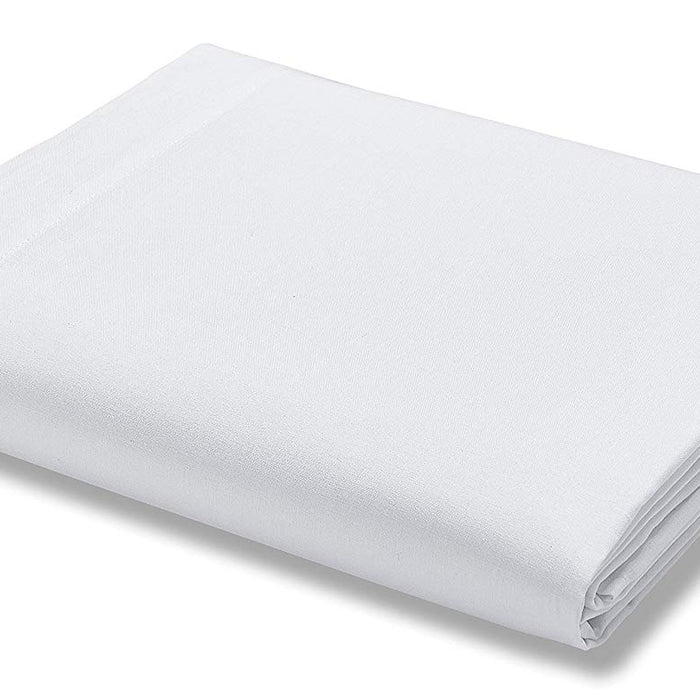Fitted Sheet, Catherine Lansfield, Catherine Lansfield 500 Thread Count White Fitted Sheet - Super King - from thebeddingbox.co.uk