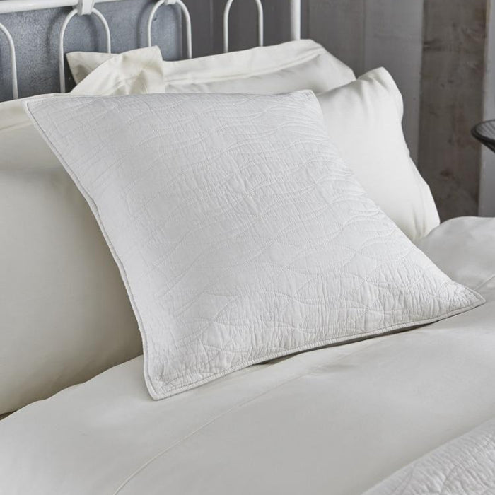 Pillowshams, Bianca Cotton Soft, Bianca Simplicity Cotton Soft European Pillowsham - from thebeddingbox.co.uk