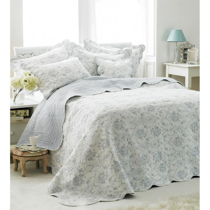 Bedspreads, Riva Home, Riva Home Etoille Bedspread - from thebeddingbox.co.uk
