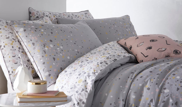 Duvet Covers, Appletree, Appletree Terrazzo Duvet Cover Set - from thebeddingbox.co.uk