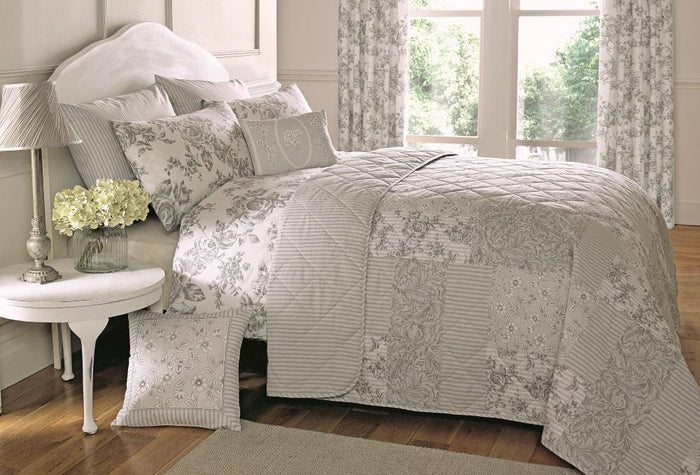 Bedspreads, Dreams n Drapes, Dreams n Drapes Malton Bedspread - 229x195cm - from thebeddingbox.co.uk