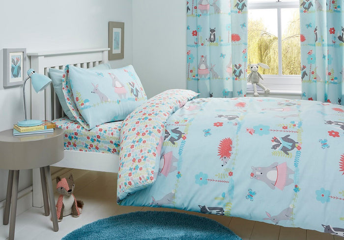 Kids Bedding, Bedlam, Bedlam Woodland Fox Duvet Cover Set - from thebeddingbox.co.uk