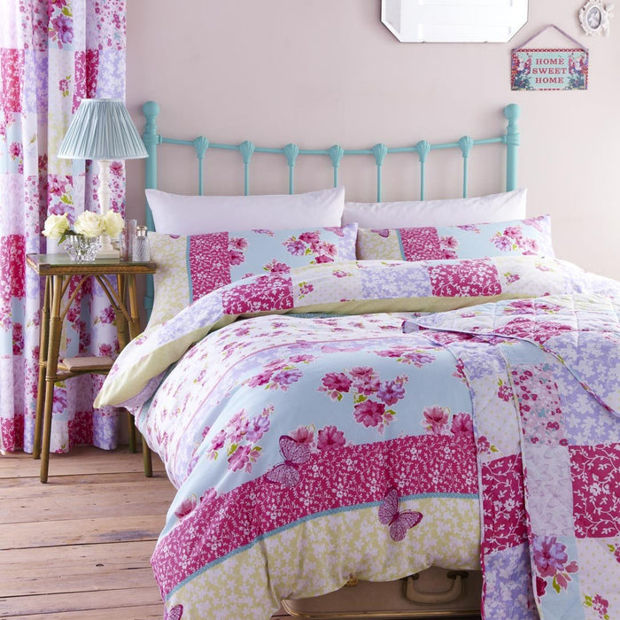 Kids Duvet Cover, Turner Bianca Plc, Catherine Lansfield Kids Gypsy Patchwork Bedspread 200x 200cm - from thebeddingbox.co.uk