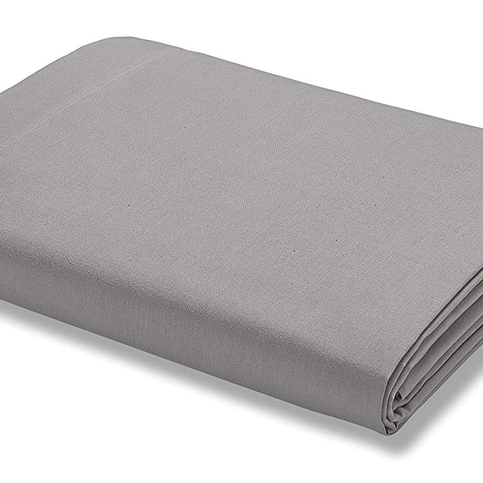 Fitted Sheet, Catherine Lansfield, Catherine Lansfield 500 Thread Count Grey Fitted Sheet - Double - from thebeddingbox.co.uk