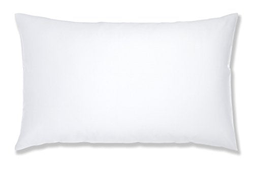 , thebeddingbox, Catherine Lansfield 500 Thread Count White Housewife Pillowcase - Pair - from thebeddingbox.co.uk