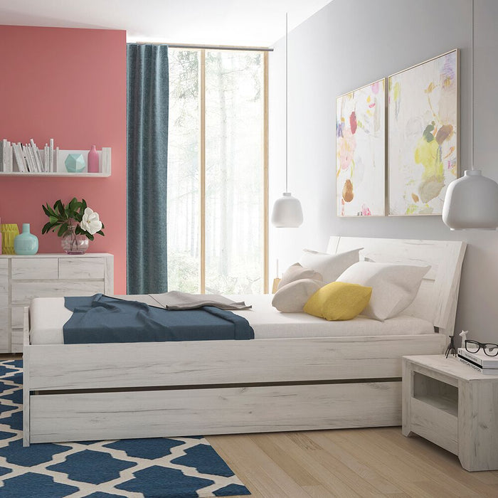 Beds, FTG, Angel Underbed Drawer - White - from thebeddingbox.co.uk