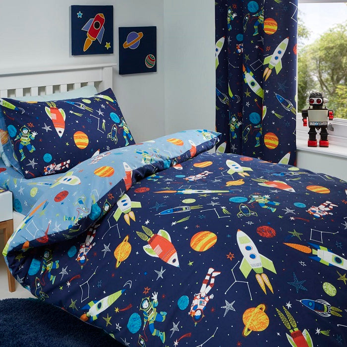 Kids Bedding, Bedlam, Bedlam Supersonic Duvet Cover Set - from thebeddingbox.co.uk