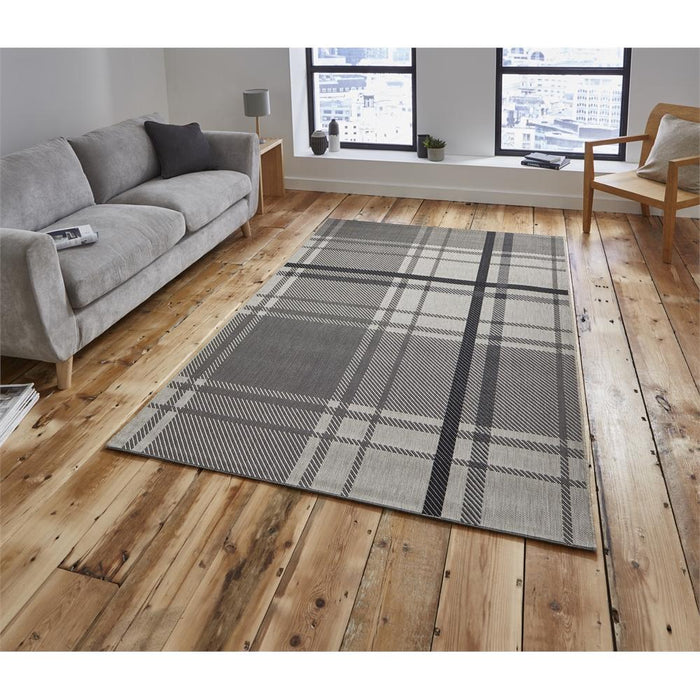 Rugs, Think Rugs, Breeze Tartan Rug - from thebeddingbox.co.uk
