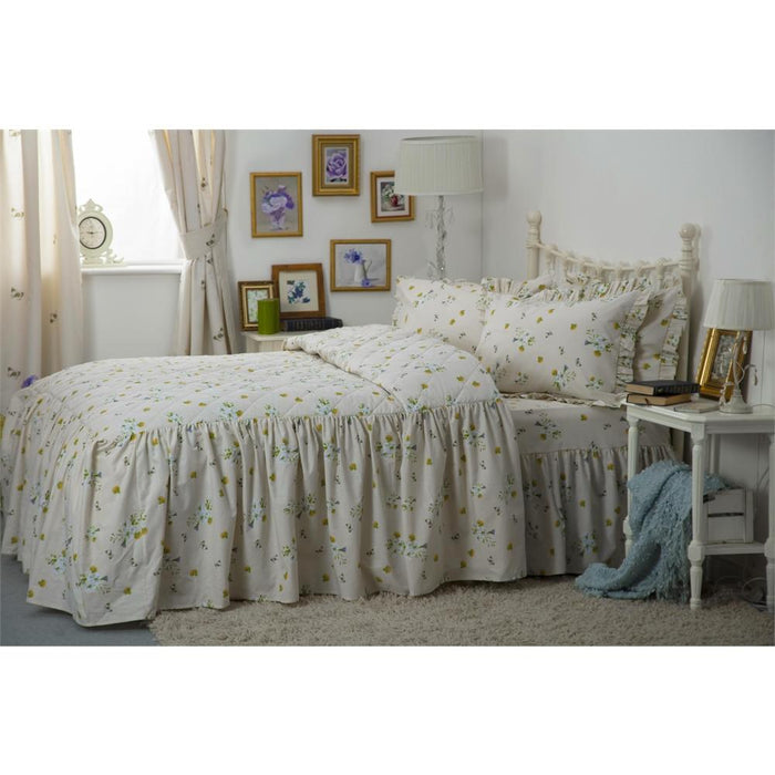 Bedspreads, Belledorm, Country Dream Bluebell Meadow Bedspread - from thebeddingbox.co.uk