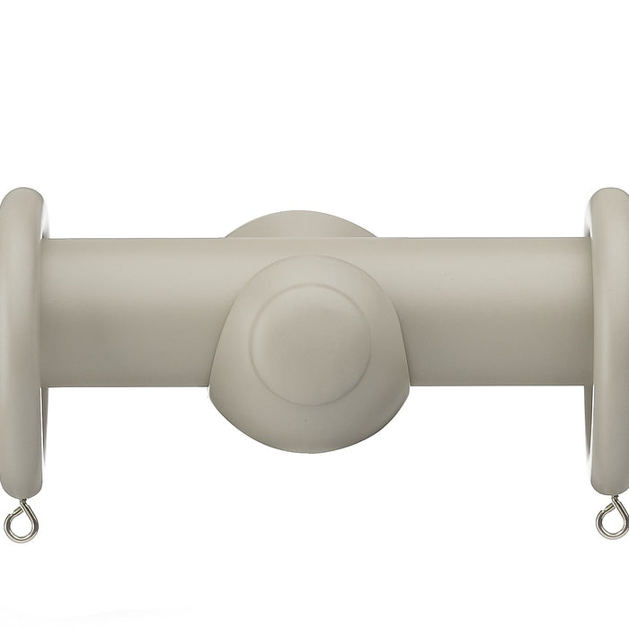Curtain Poles, Swish, Swish Romantica Ball Wood Curtain Pole 35mm - from thebeddingbox.co.uk