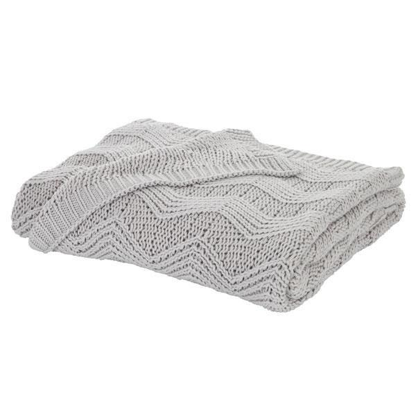 Throws, Bianca Cotton Soft, Bianca Cotton Soft Knit Throw - from thebeddingbox.co.uk