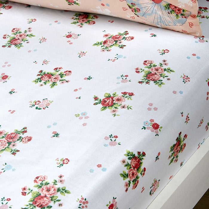 Kids Duvet Cover, Bedlam, Bedlam Sabrina Ballerina Fitted Sheet - from thebeddingbox.co.uk