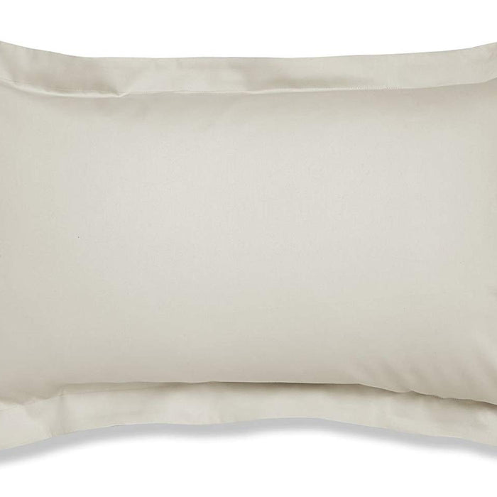 , thebeddingbox, Catherine Lansfield 500 Thread Count Natural Oxford Pillowcase - from thebeddingbox.co.uk