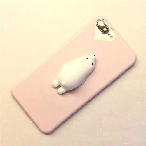 Coque Iphone Ours Moelleux