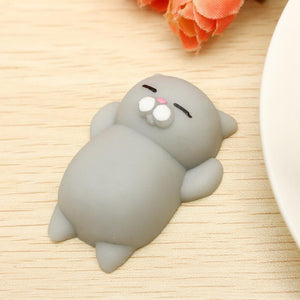 "Chat Moelleux ""Squishy"" Anti Stress (3 coloris)"