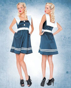 Folter Clothing Sail Away Nautical Pinup Dress
