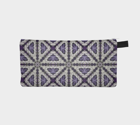 Zipper Notions Pouch - Crystal Violet