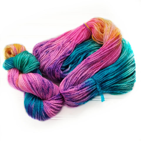 Cozy Chunky hand dyed Yarn - Un Named