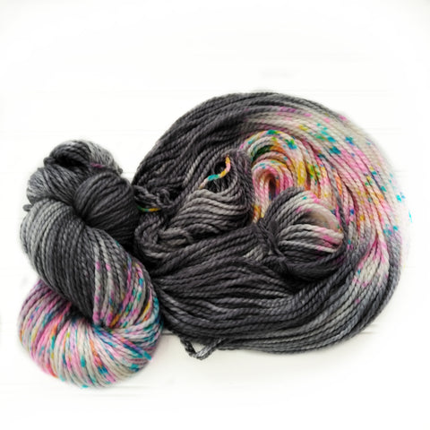 hand dyed yarn, chunky weight hand dyed yarn