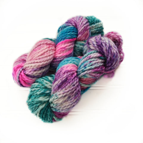 North Woods Bulky Hand dyed yarn