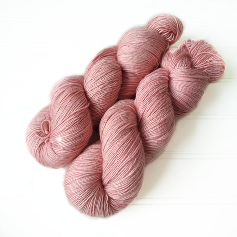 Single Ply Sock/Fingering Weight - Sunkissed Cherry