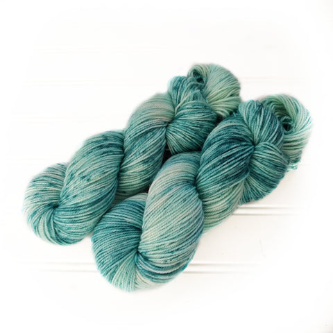 Kid Lux Smooth Dk - Teal Speckle