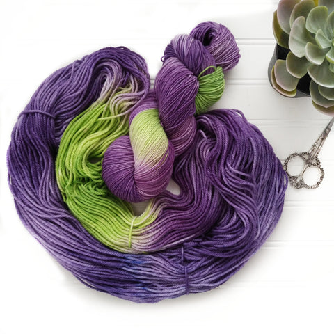Woodland Violet - Squishy Sock