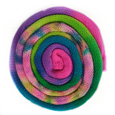 Knit blank dyed Squishy Sock Yarn - 80's