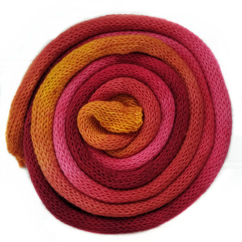 Knit blank dyed Squishy Sock Yarn - autumn