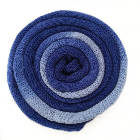 Knit blank dyed Squishy Sock Yarn - Blues