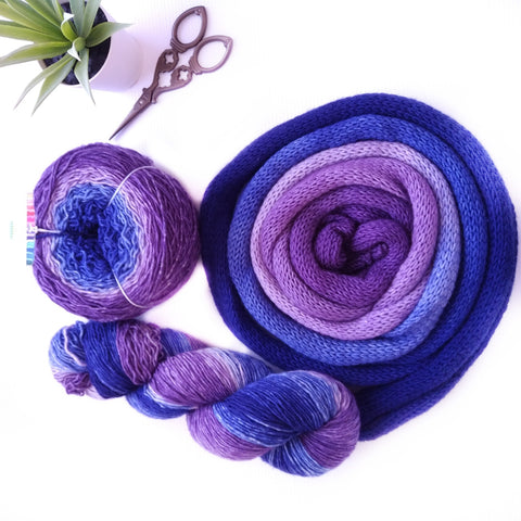 Sock Yarn Blank, Relaxation