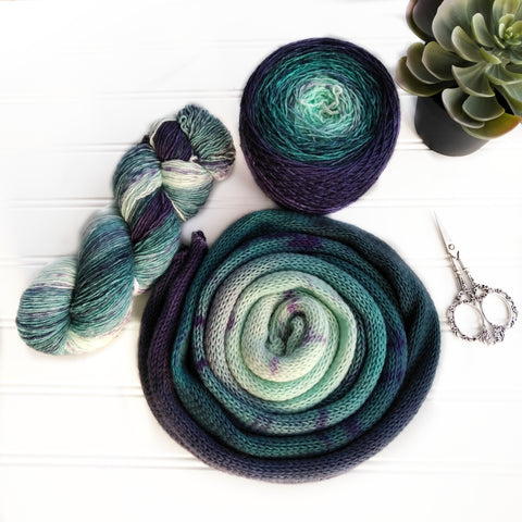 Sock Yarn Blank - Water Way