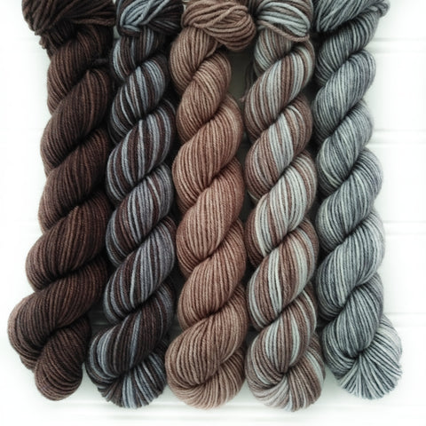 Mini Skein Set of 5 OOAK