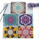 Note Cards - Yarn Art - Pack of 5 Mixed
