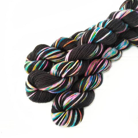 Single Mini Skein - Fireworks