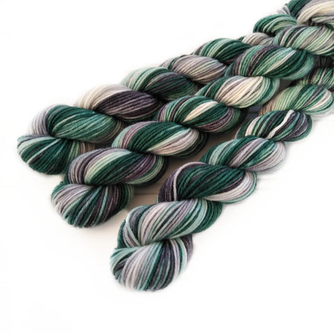 Single Mini Skein  - Cool Spruce
