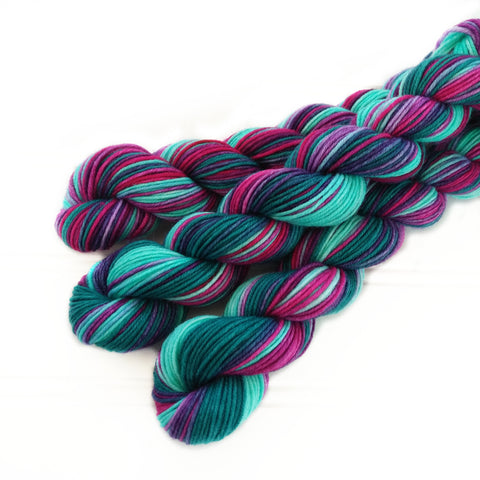 Single Mini Skein - Tropical Feathers
