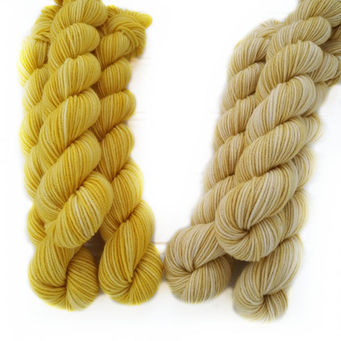 Single Semisolid Mini Skein - Yellows