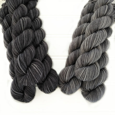 Single Mini Skein - Greys